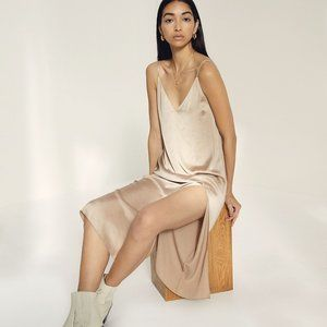 Wilfred only slit slip dress